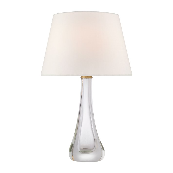 Christa Clear Glass Table Lamp Williams Sonoma In 2021 Lamp Table Lamp Clear Glass Table Lamp