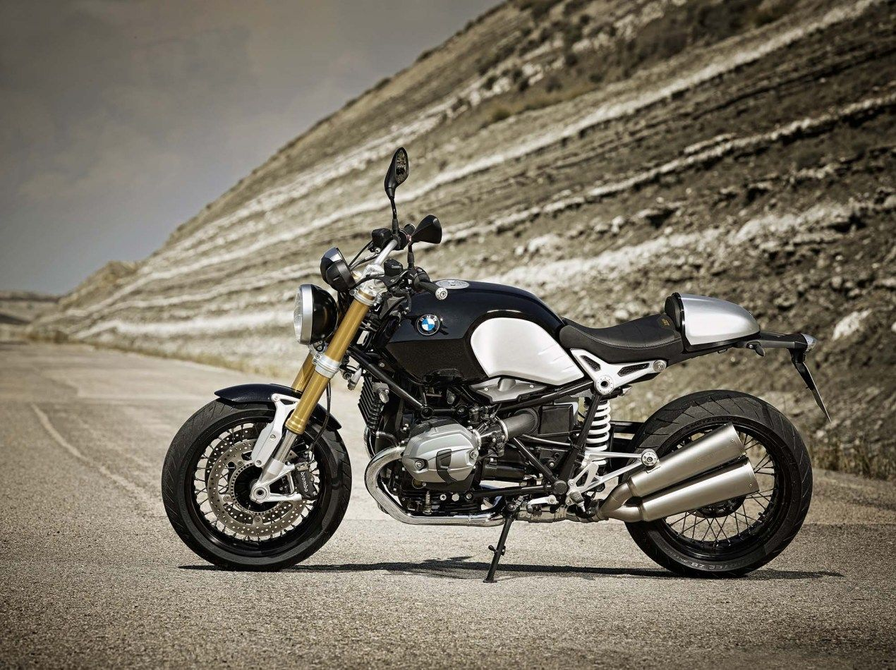 The bmw r ninet which has been created to mark 90 years of bmw motorrad radiates purism and power in undisguised form