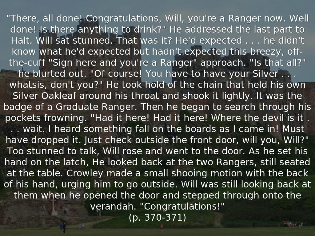 Ranger's Apprentice Halt Wisdoms  Google Search