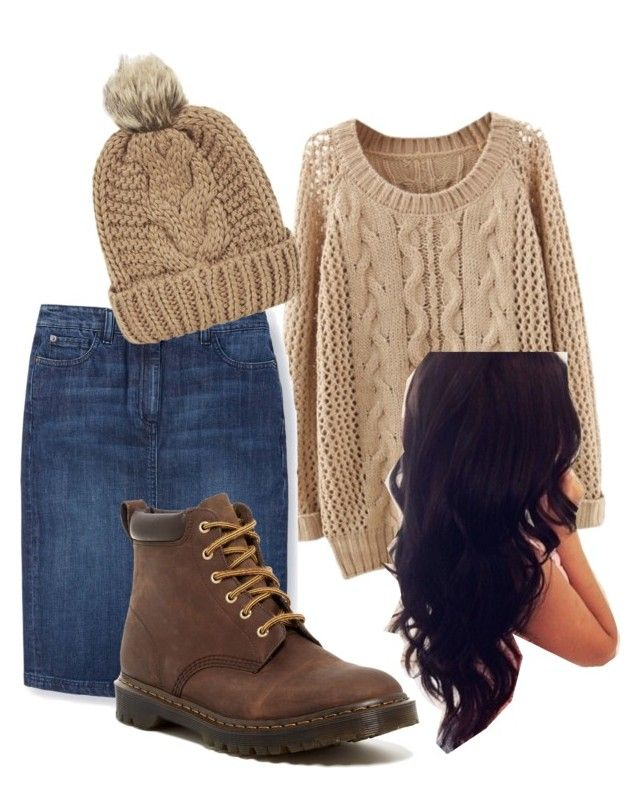 """""""Sweater weather"""" by alexandranegron on Polyvore featuring Perfection Beauty, Boden, Dr. Martens and Chicnova Fashion"""