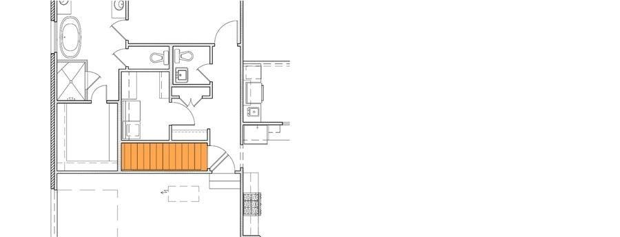 4 Bedroom Single Story Modern Farmhouse with Bonus Room Floor Plan