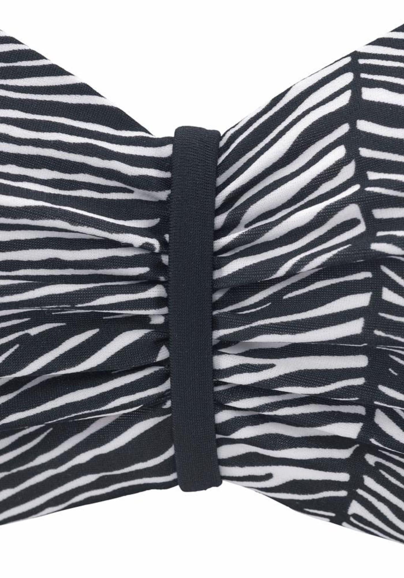 Photo of VENICE BEACH underwire bandeau top 'Sugar' in black and white