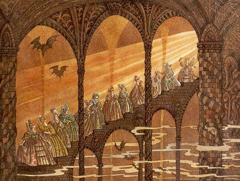Image result for the twelve dancing princesses