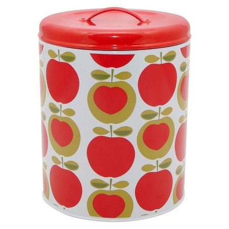 Typhoon Apple Heart Biscuit Tin Target (With images