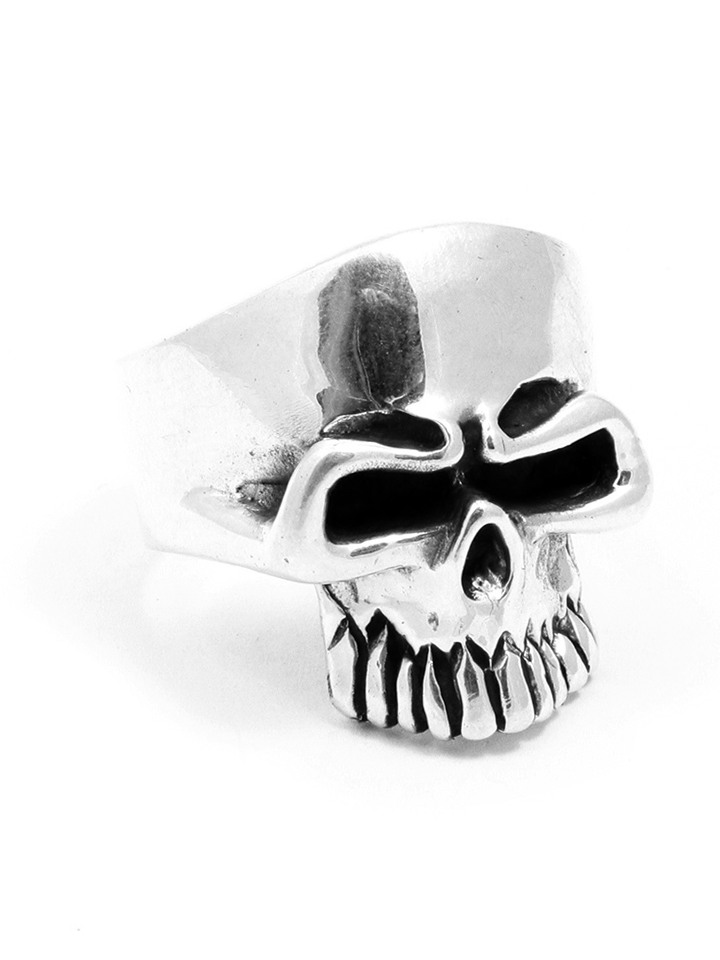 Buy For Less 925 Sterling Silver Babe Skull Ring