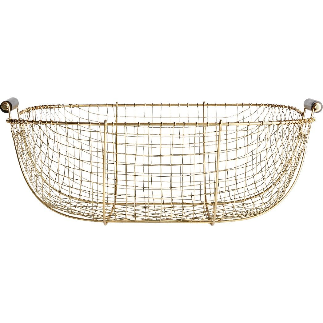 Bounty Small Wire Basket | Pinterest | Wire basket, Iron and Woods