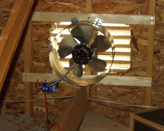 Need An Attic Fan Installed Repaired Or Replaced Contact Papa S