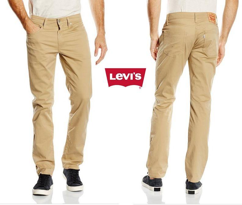 ef55a0b15fc ¡Chollo! Vaqueros Levi s 511 Slim Fit en color Beige por 51 euros. 46% de  descuento.