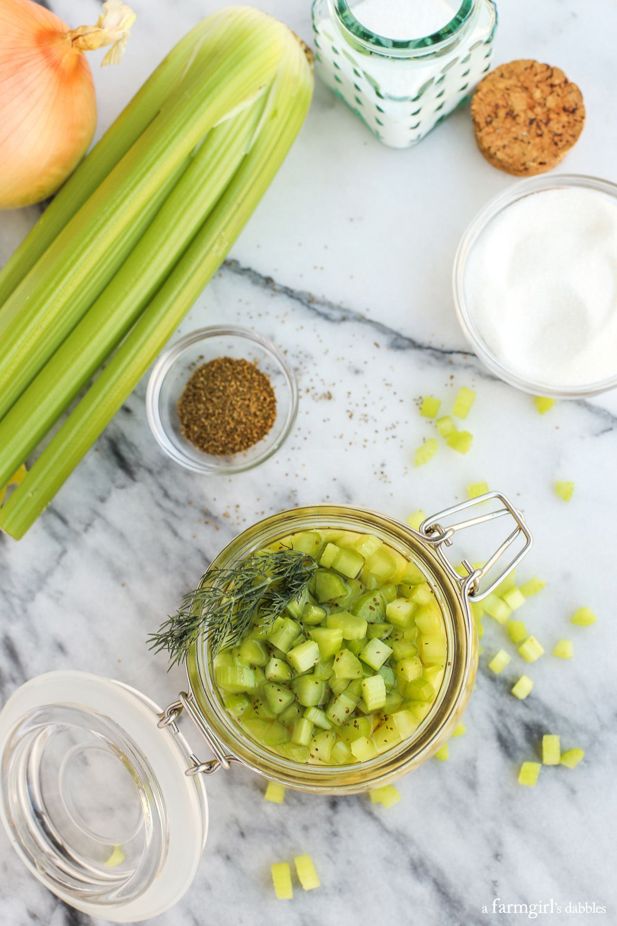 Quick Pickled Celery Recipe Pw Friends Pinterest Celery