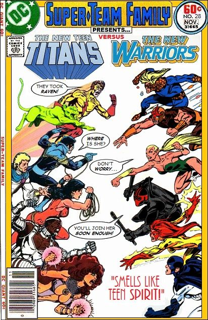 Super-Team Family: The Lost Issues!: The New Teen Titans Vs. The New Warriors