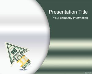 life insurance powerpoint template is a free green template with
