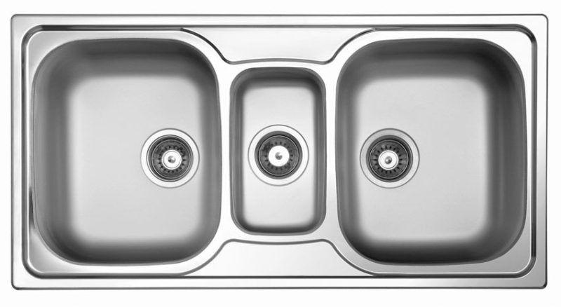 3 bowl kitchen sink undermount 3 bowl kitchen sink undermount   kitchen   pinterest   sinks      rh   pinterest com