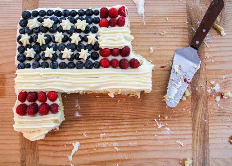 American Flag Cake — stixandstonez