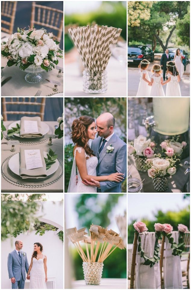 Beautiful Greek Wedding (With Gorgeous Styling Ideas