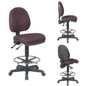 Work Smart DC940-231 Deluxe Ergonomic Drafting Chair