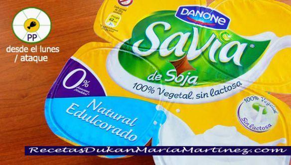 Yogures Savia De Soja Danone Aptos Dukan Desde Ataque Dieta