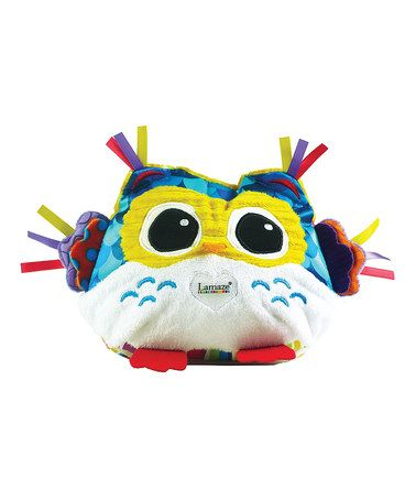 Love this Night Night Owl Light-Up Plush Toy on #zulily! #zulilyfinds