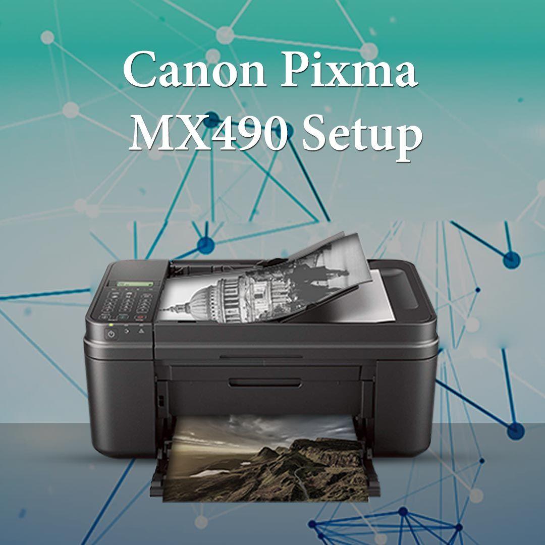 Canon Pixma Mx490 Wireless Setup Best Inkjet Printer Setup Printer