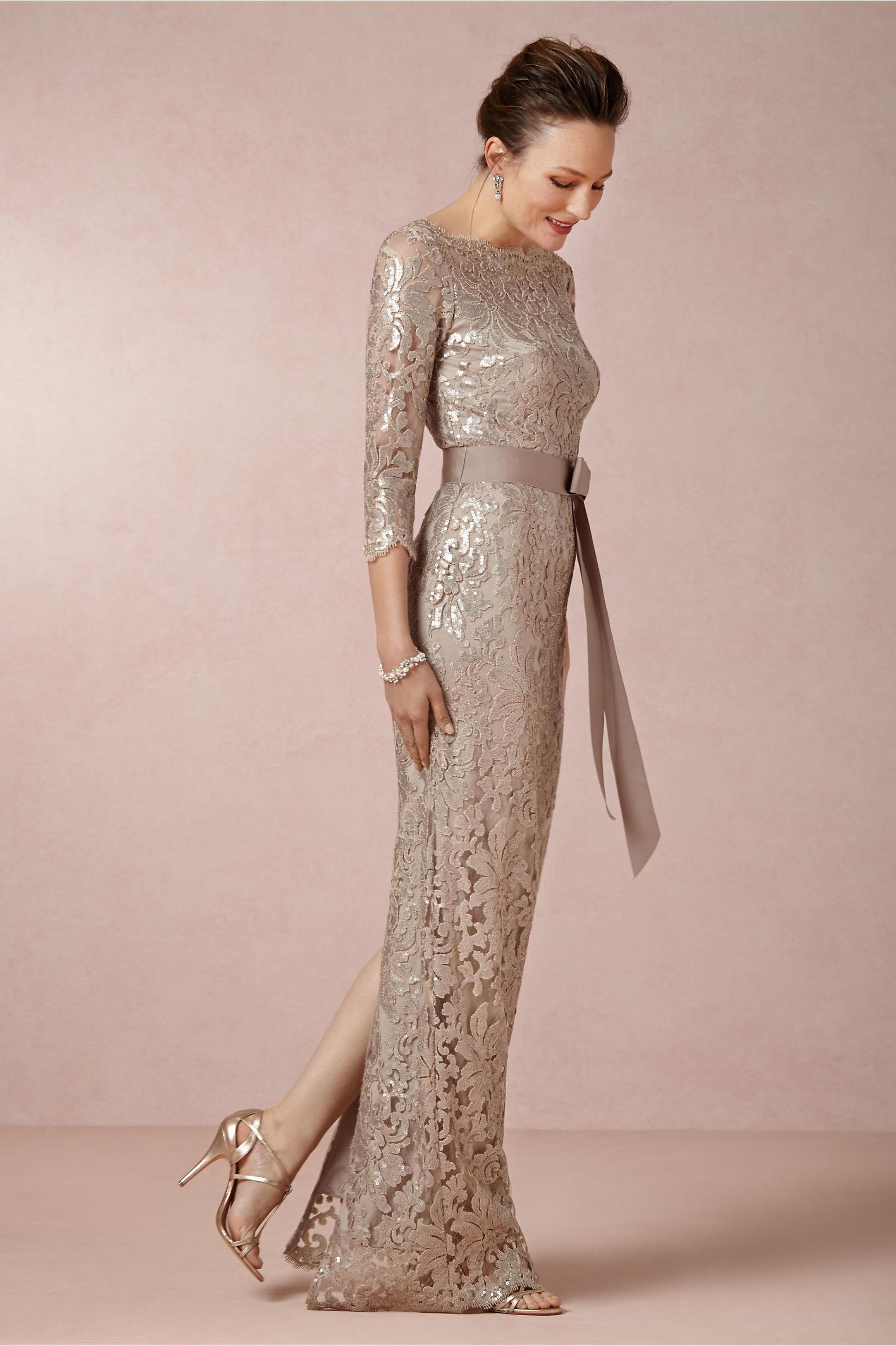 Winter Wedding Mother of Bride Dresses