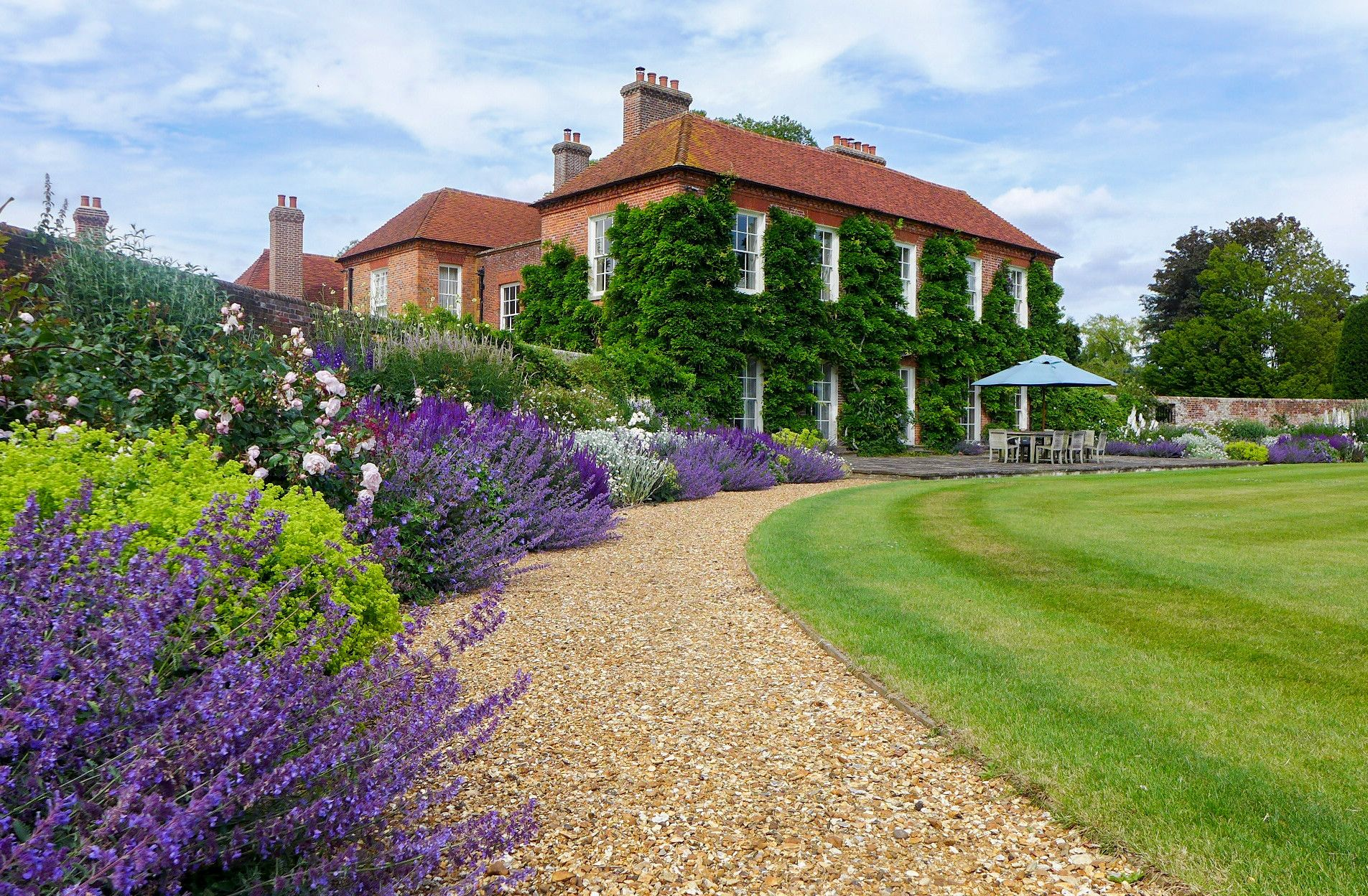 Taylor Tripp Garden Landscape Designers Winchester Manor House Hampshire Zahrada