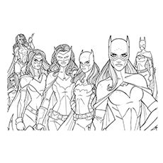 10 beautiful batgirl coloring pages for your little ones