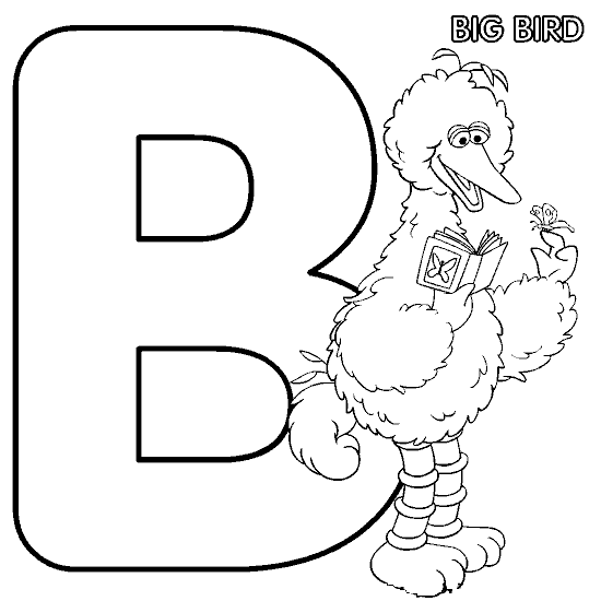 B Is For Big Bird