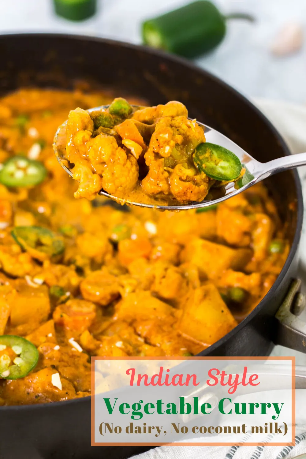Indian Style Vegetable Curry No Dairy No Coconut Milk My Eclectic Bites Recipe In 2020 Vegetable Curry Asian Vegetarian Recipes Easy Vegetable Curry