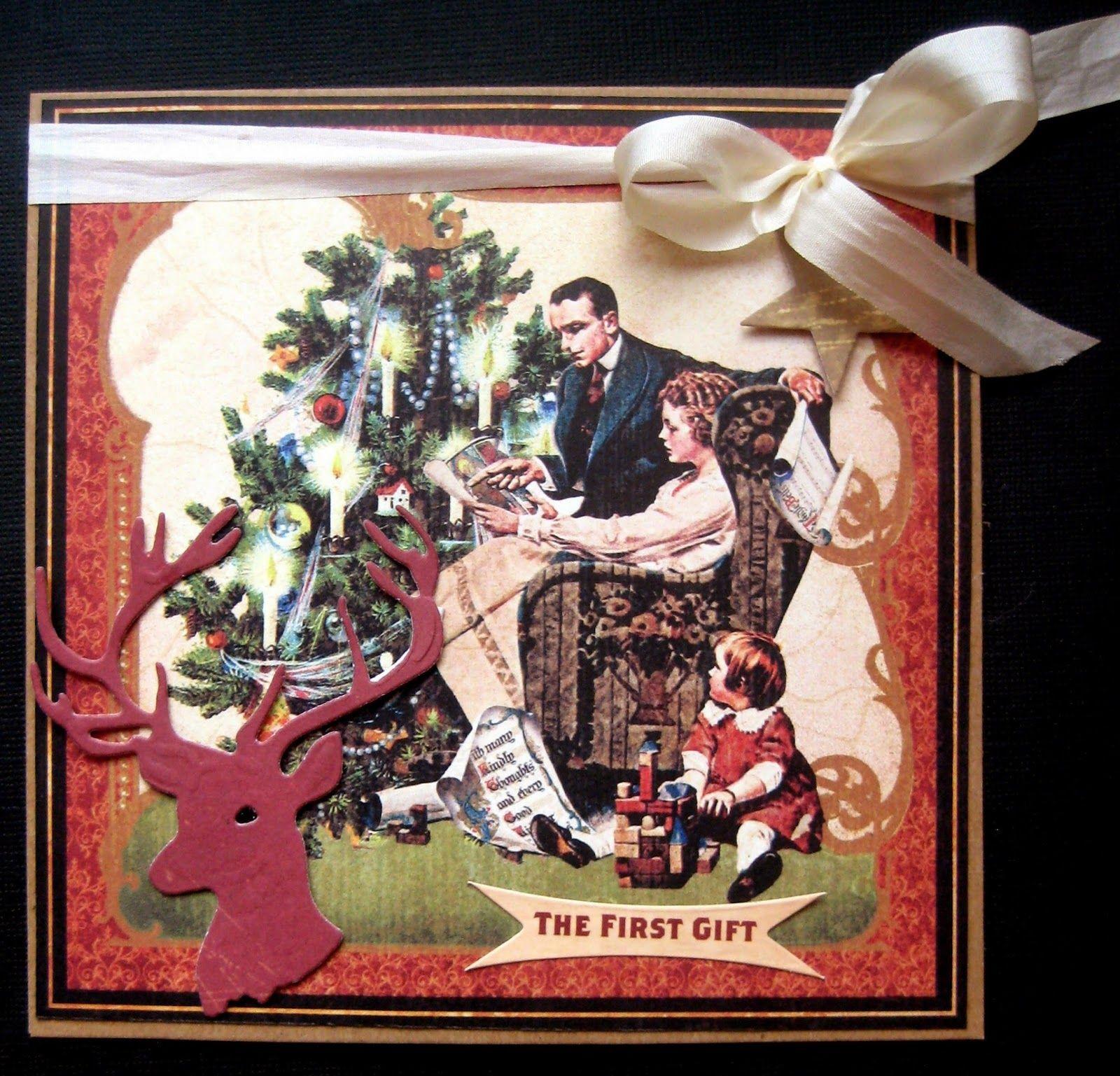 Scrapspul van Colien: Kerst