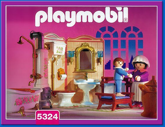 Playmobil Set 5324 Bathroom Playmobil Juguetes Muebles Ninos