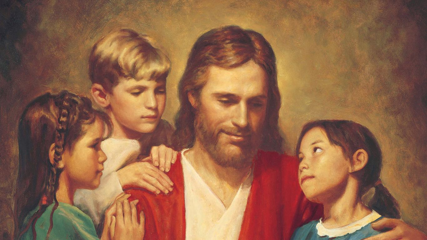 Jesus With Young Children Jesus Christ Jesus Scripture