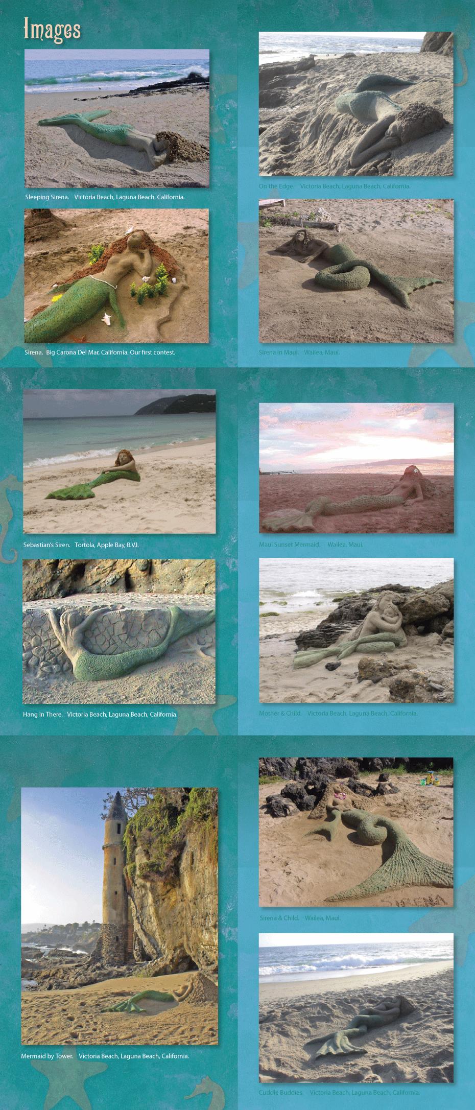 Sand Art Mermaids