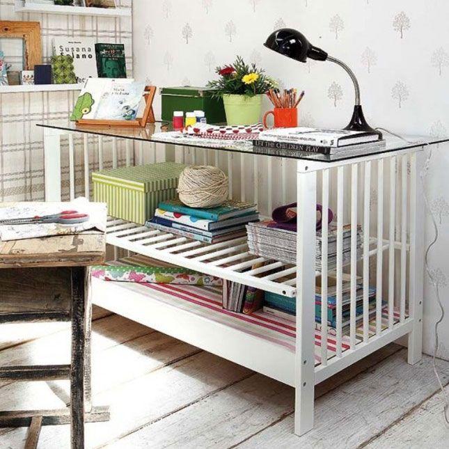 I\'m a Big Kid Now: 13 Ways to Repurpose Baby Furniture | Muebles y ...