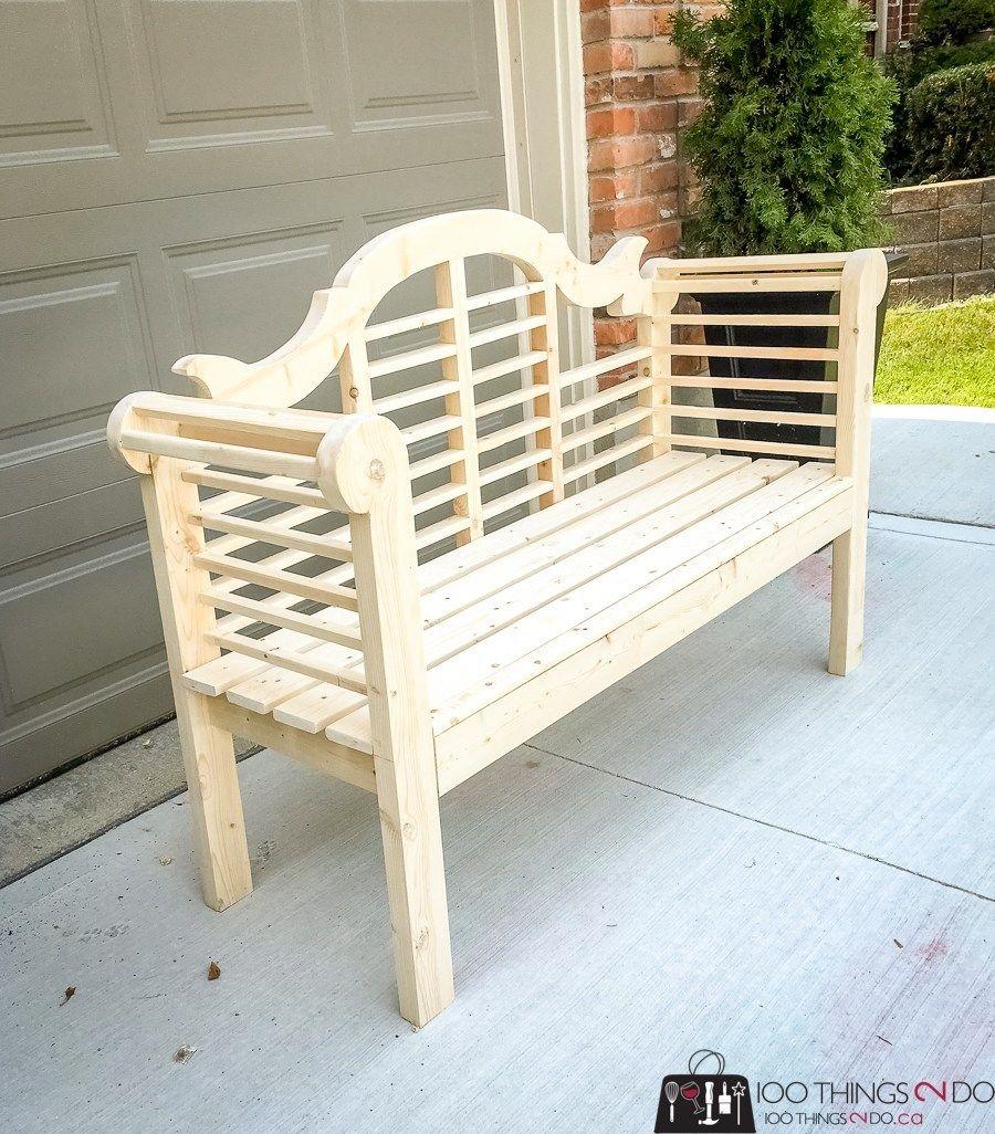 Lutyen S Diy Garden Bench With Images Garden Bench Diy Garden