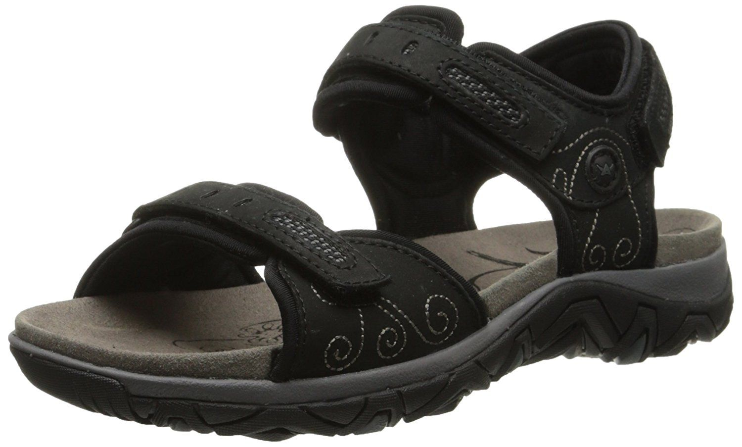 ALLROUNDER by MEPHISTO Women's Lagoona Ankle-Strap Sandal * You can get additional details at the image link.