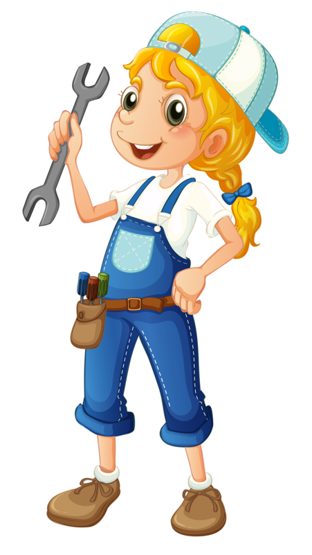 Personnages illustration individu personne gens - Clipart bricolage ...