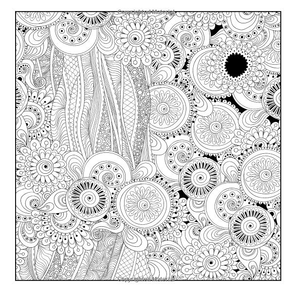 Lilt Kids Coloring Books Advanced Patterns And Doodles Adult Book Vol 20