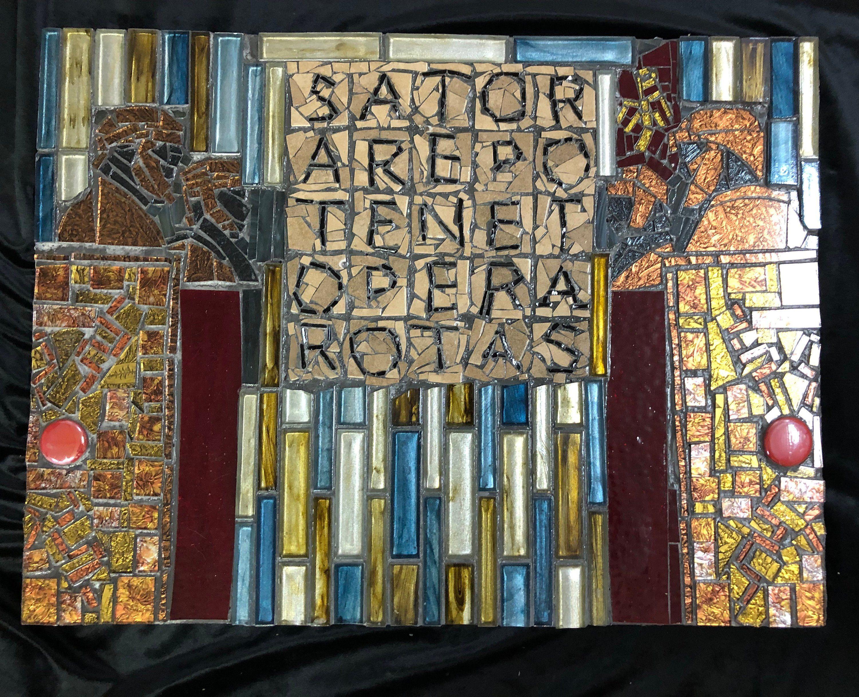 Pater Noster Sator Square Roman Art Ancient Roman Our