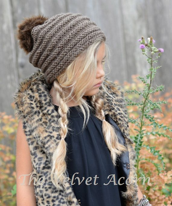 KNITTING PATTERN - Fauxlyn Slouchy (Small, Medium, Large and XLarge ...