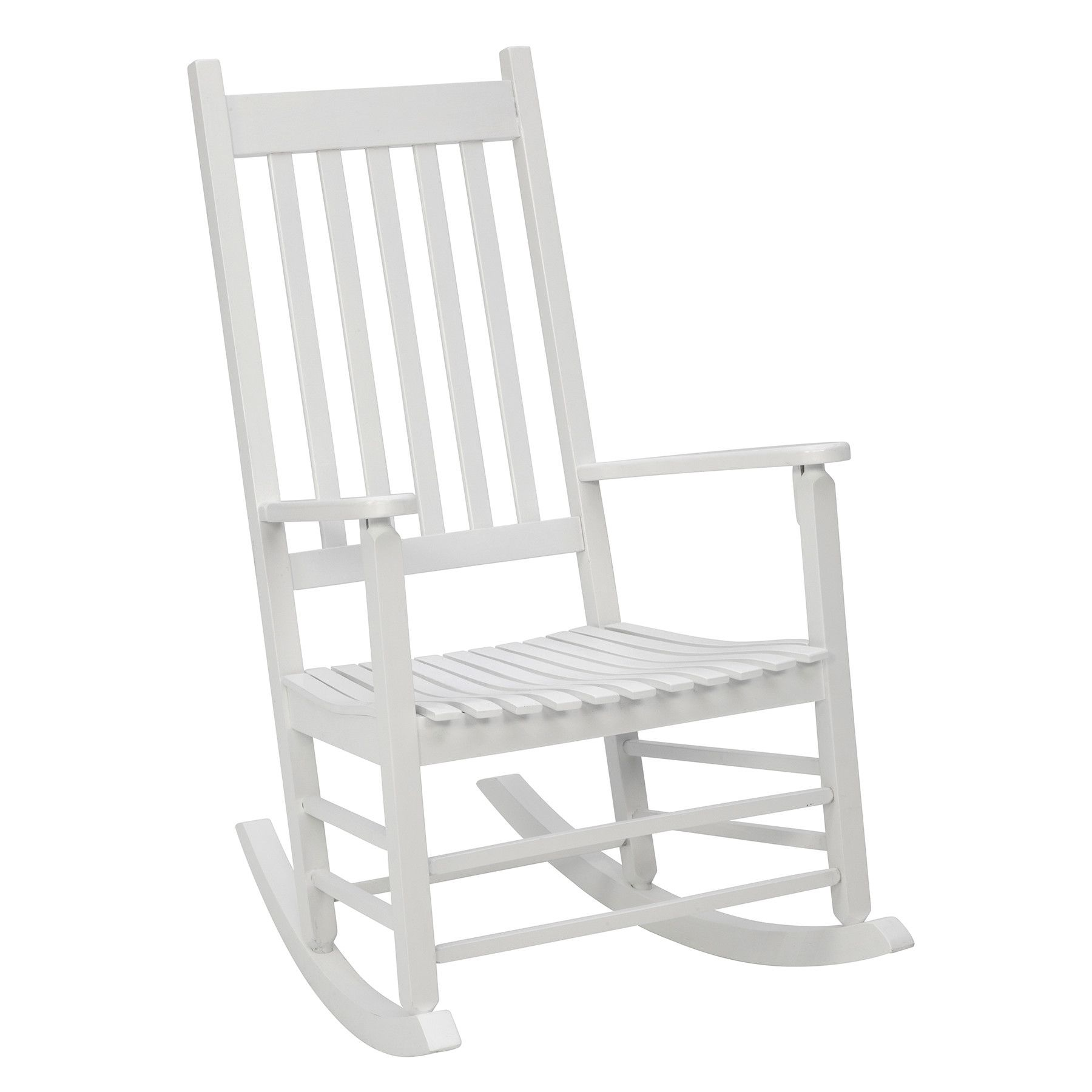 Exceptionnel Enjoy Warm Summer Breezes From Your Porch, Patio, Lawn Or Garden By Choosing  This Classic Jack Post White Mission Patio Rocker.