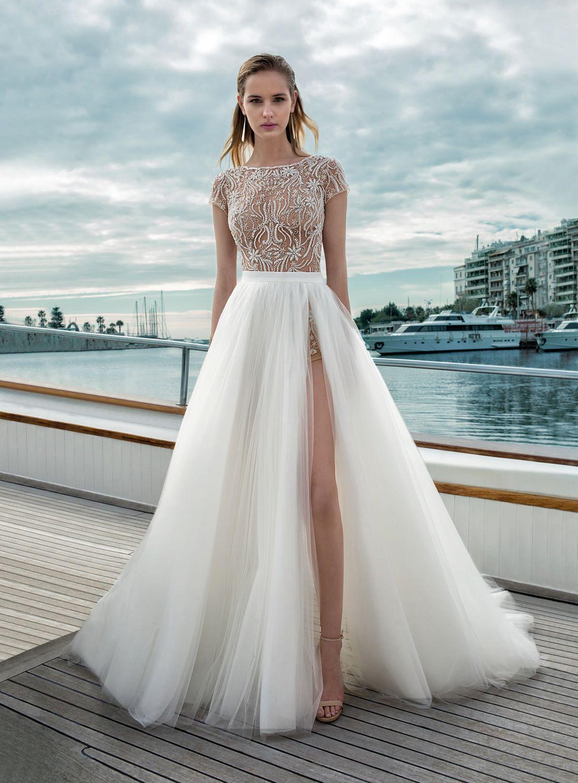 Destination Romance Collection Wedding Dress Style D273tdr272s Two Piece Wedding Dress Wedding Dresses Convertible Wedding Dresses