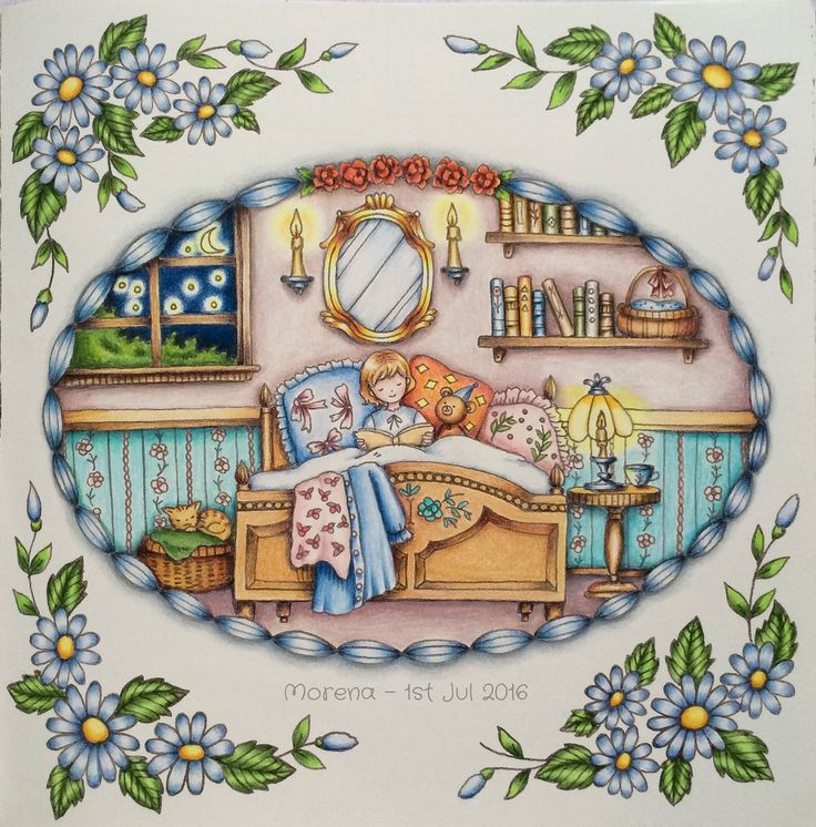 Romanticcountry Romanticcountry1rsttale Bedtime Coloring BooksAdult
