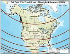 Five questions and answers about the autumnal equinox #autumnalequinox
