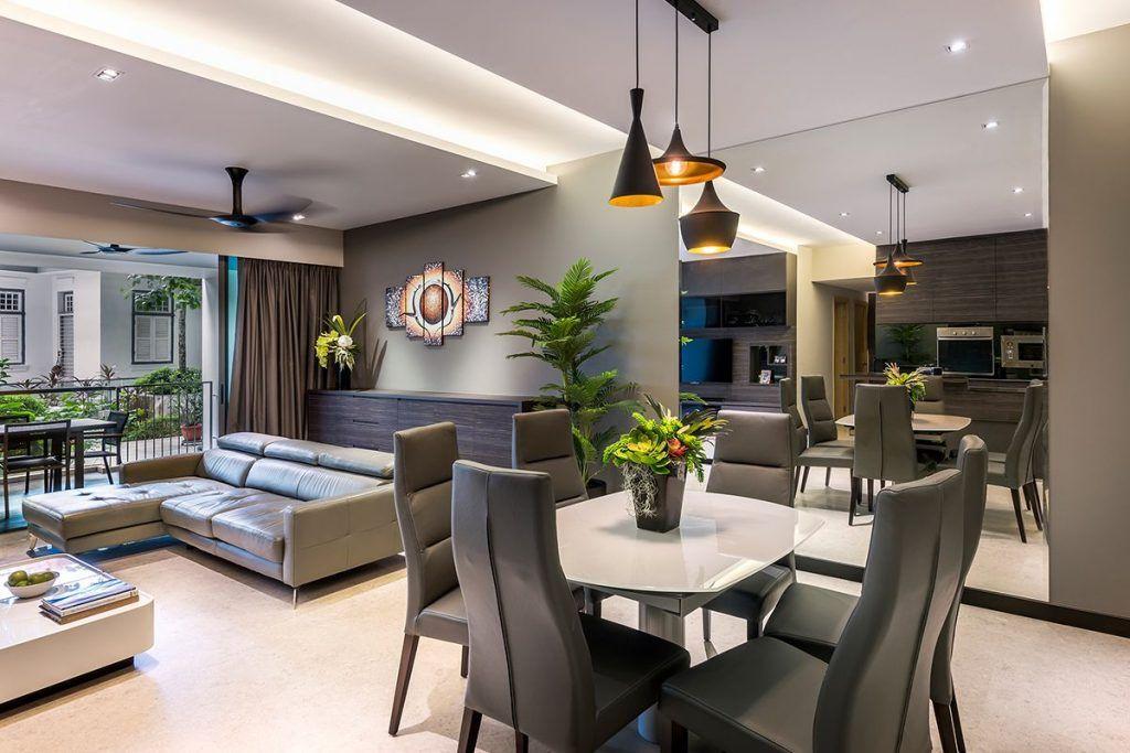 Singapore Condominium Interior Design At The Grand Duchess Condominium Interior Condominium Interior Design Condo Interior