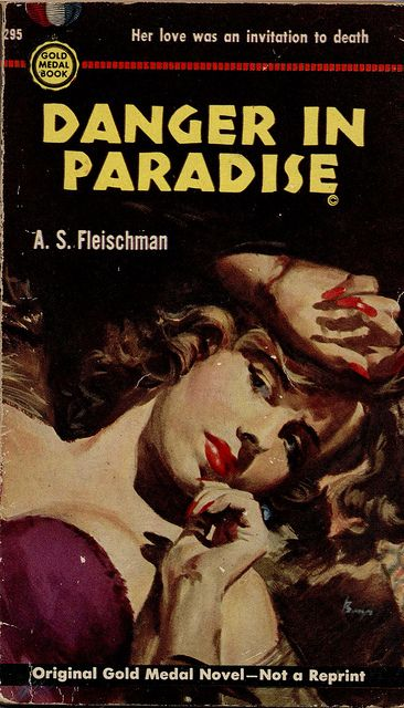 Image result for danger in paradise pulp cover