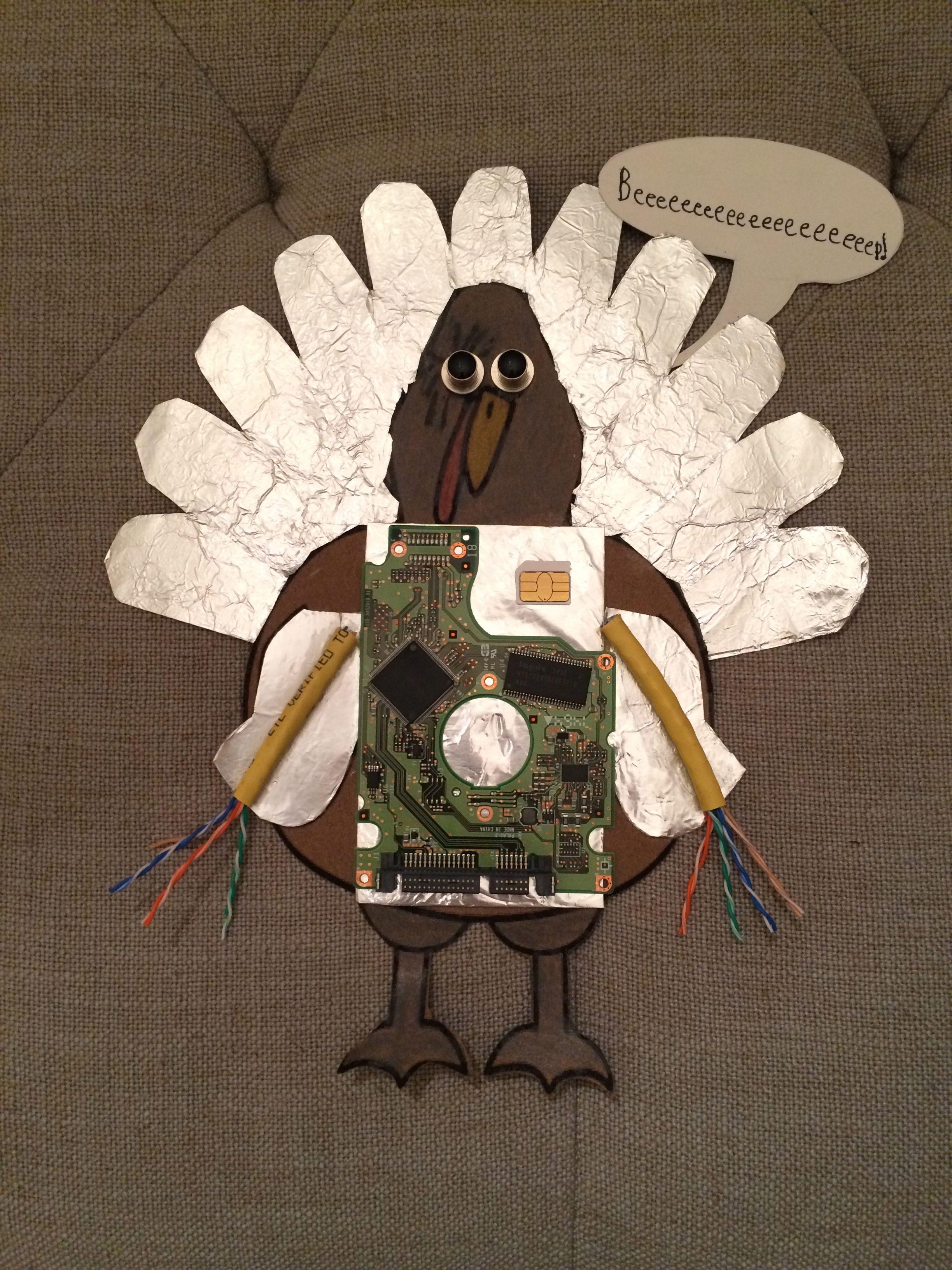 Tom Turkeys Robot Disguise