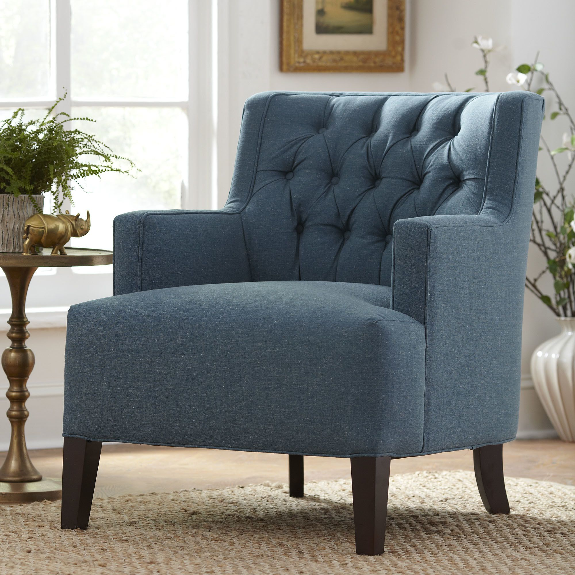 Howerton Arm Chair  Accent chairs, Wayfair living room chairs
