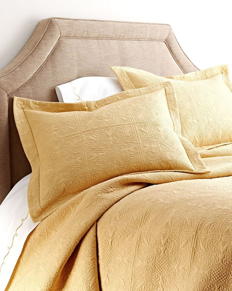 Classic In Style And Design, Our Cornsilk Yellow Quilted Bedding Is A Rich  Harvest Color