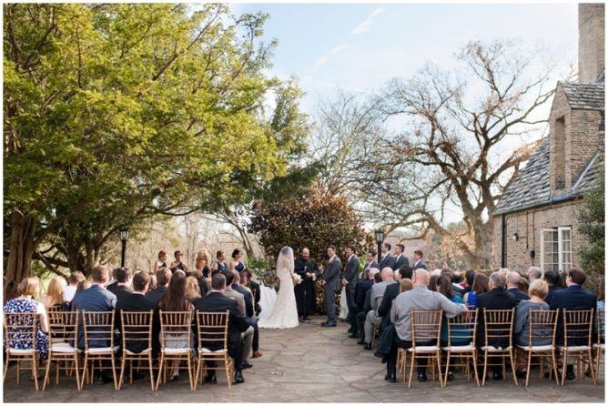Longue vue club wedding