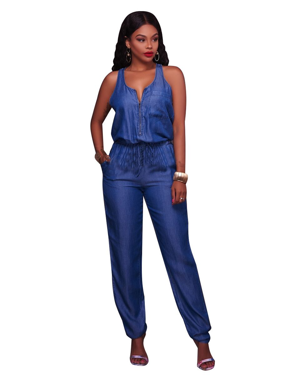 0648f65358eb Jeans Jumpsuit Mori girl korean style Denim Jumpsuits Women s Overalls Pants  Ladies  Jeans Gallus Rompers Female Suspender-in Jumpsuits from Women s …