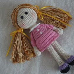 Little angel doll - amigurumi pattern in 2020 | Angel doll ... | 250x250